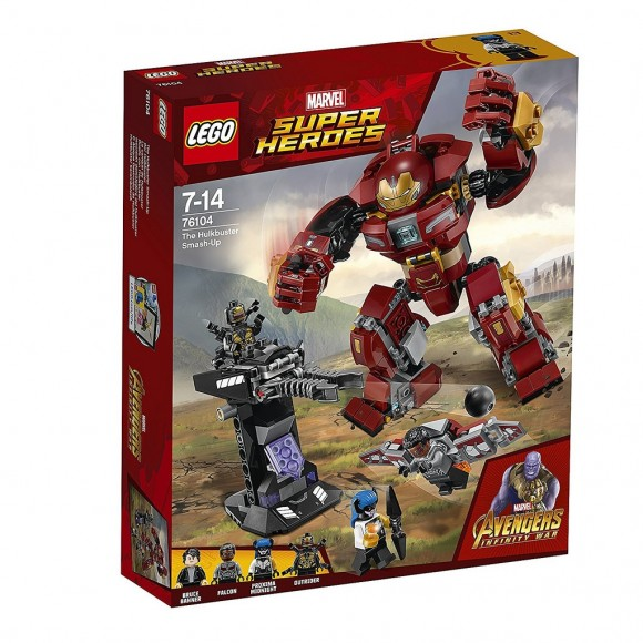 76104 LEGO O ATAQUE DESTRUIDOR DE HULKBUSTER