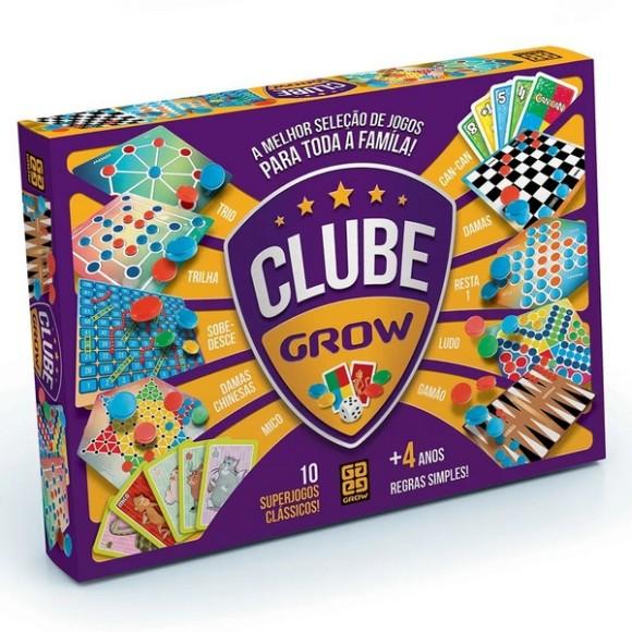CLUBE GROW 10 JOGOS CLASSICOS