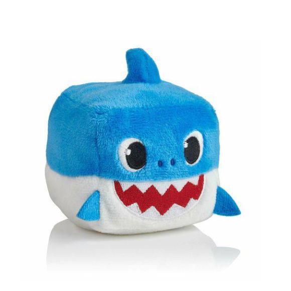 Pelúcia Musical Baby Shark Cubo Azul - Toyng 39258