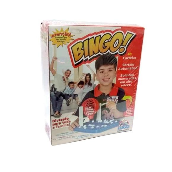 Jogo de Bingo com 48 cartelas Lugo Brinquedos