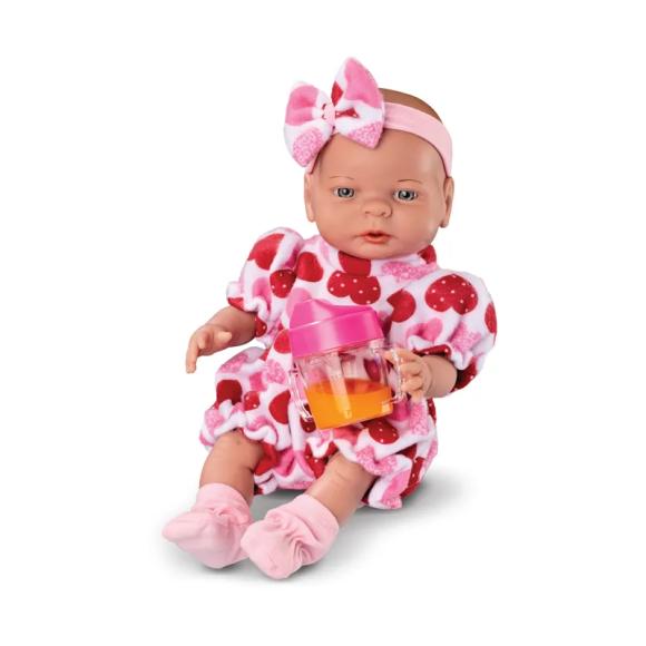 Boneca Bebê - 35 Cm - Primeira Comidinha - Roma