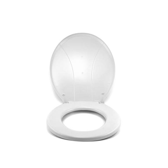 Assento Sanitário Polipropileno Branco - Plastibrasil