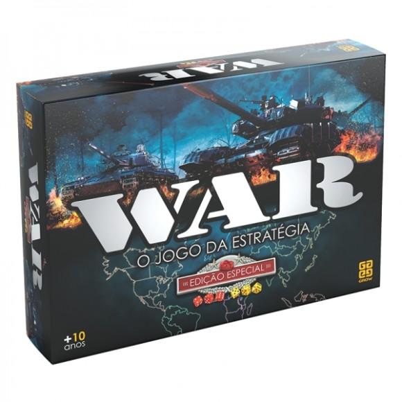 Jogo War Edição Especial Grow 1253 (257855)