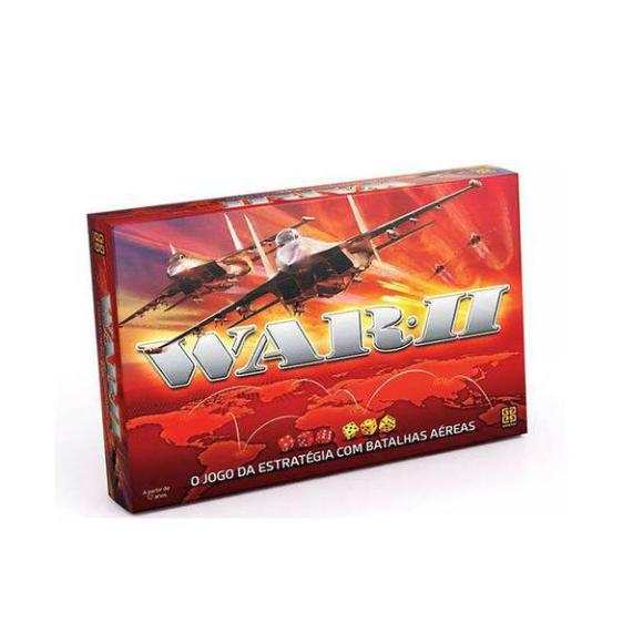Jogo De Tabuleiro Grow War 2 Batalhas Aéreas Original