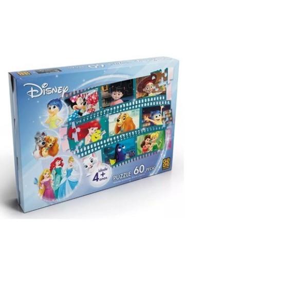 Quebra-cabeça Disney 60 Peças Grow 02449