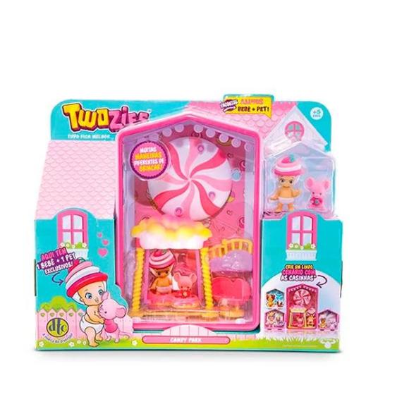 Conjunto Twozies DTC Série 3 - Candy Park