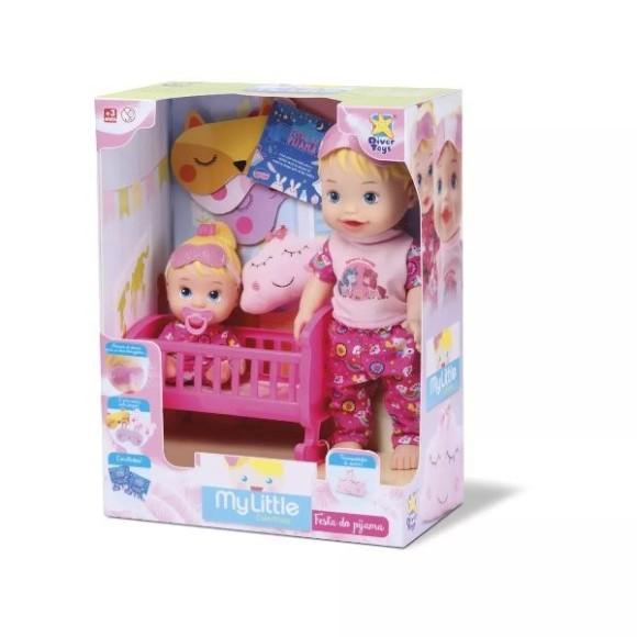 Boneca My Little Brincando De Pijama Diver Toys