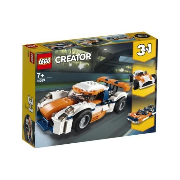 31089 - Lego Creator Carro De Corrida Sunset
