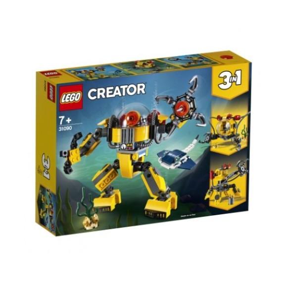 31090 - Lego Creator Robo Subaquatico 3 Em 1