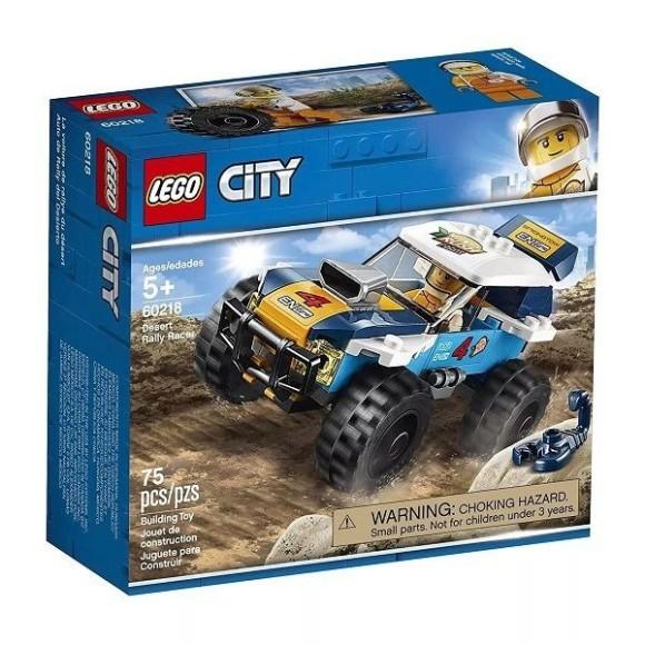 60218 - Lego Carro De Corrida Do Rali Do Deserto