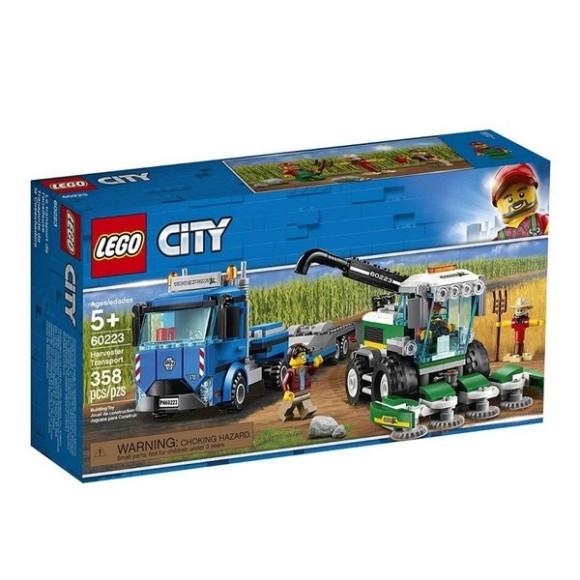 60223 - Lego City Transporte De Colheitadeira