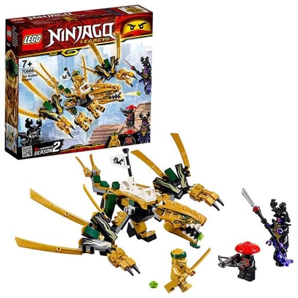 70666 - Lego Ninjago - O Dragão Dourado