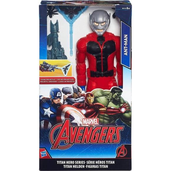 Boneco Vingadores Titãn com Acessórios Homem Formiga - Hasbro