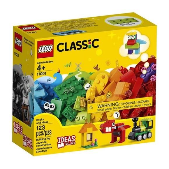 11001 - Lego Classic Peças E Ideias