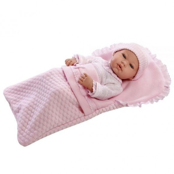 Boneca Elegance Anne Baby Brink 1392