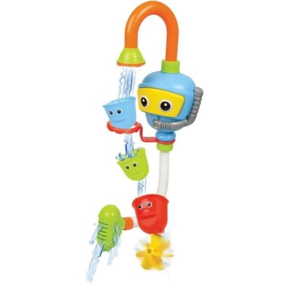 Brinquedo Banho Divertido Robô Chafariz Rosita 9850