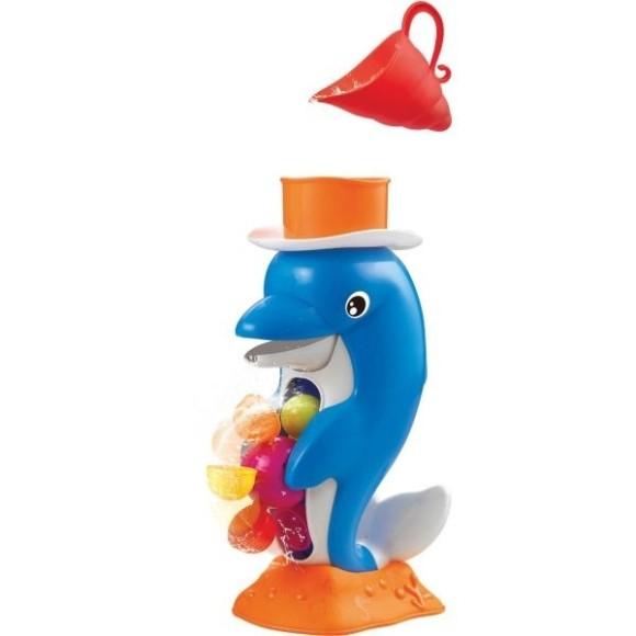 Brinquedo Banho Divertido Golfinho Chafariz Rosita 9853