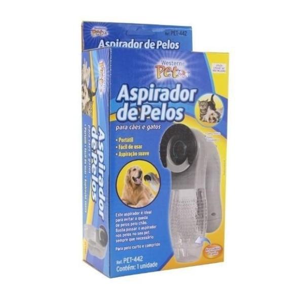 Escova Elétrica Aspirador Suga Pelo Pet Cachorro E Gato Portátil
