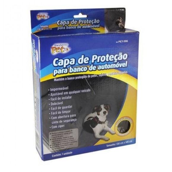Capa De Proteção Impermeável Para Banco Automotivo Cão E Gato
