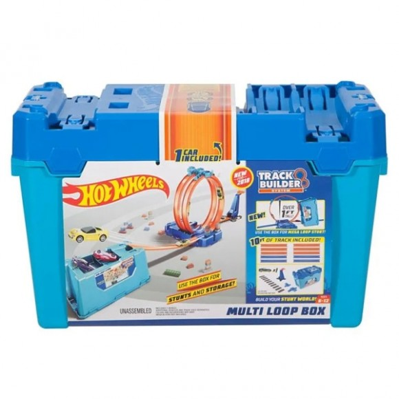 Hot Wheels Kit Completo Stunt Box - Mattel