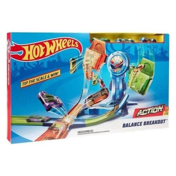 Pista Hot Wheels Desafio Do Equilibrio - Mattel