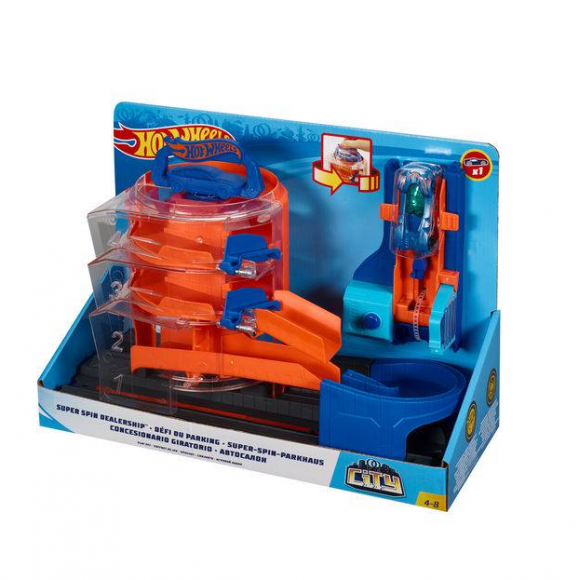 Hot Wheels Conjunto Loja de Carros FBN14 - Mattel
