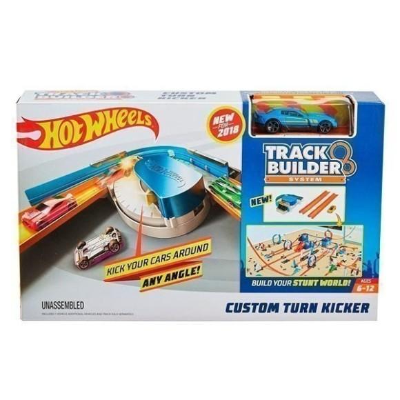 Conjunto De Pista E Extensores Hot Wheels - Pista E Lançador Com Veículo - Mattel