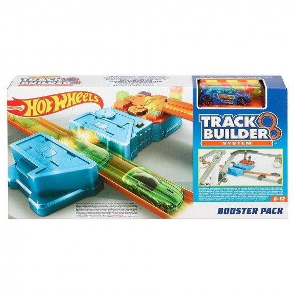 Pista Hot Wheels Acelerador Conjunto Booster Pack Gbn81