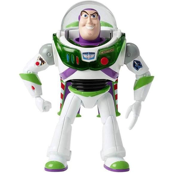 Figura Com Luzes E Sons - 18 Cm - Disney - Pixar - Toy Story 4 - Buzz Lightyear - Mattel