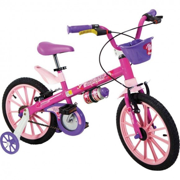 Bicicleta Top Girls Aro 16