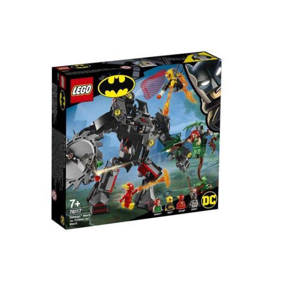 76117 Lego Batman DC Robô Vs Poison Ivy Robô