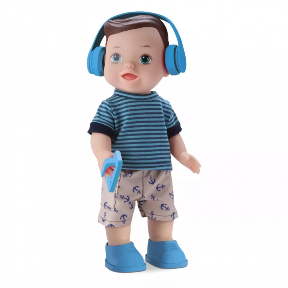 Menino Boy My Little Collection Divertoys - 32 Cm