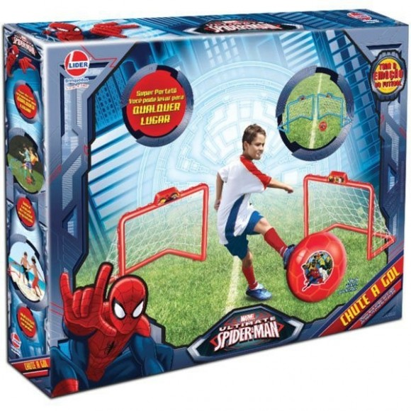Brinquedo Diverso Spider-man Chute A Gol Lider