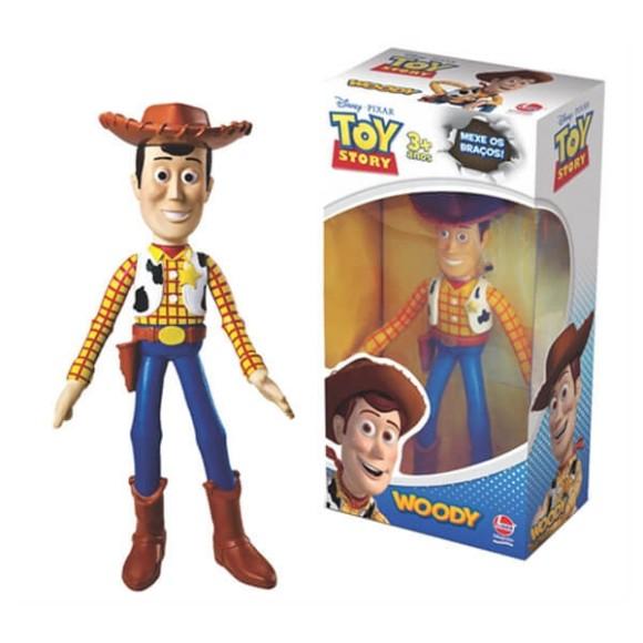 Boneco Vinil - Woody - Toy Story Disney - Lider