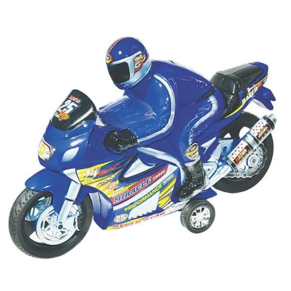 Brinquedo Moto Racer Movido A Fricção Cores - Lider