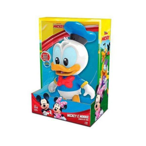 Boneco De Vinil Donald Baby Lider 2890