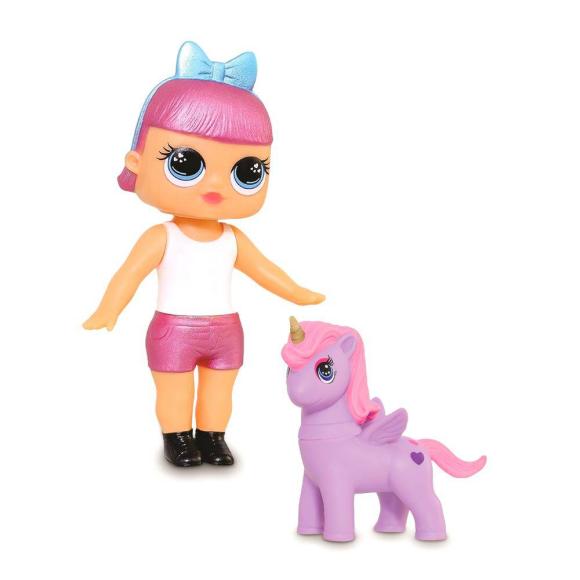 Boneca Bebê Mini Doll Fantasy Vinil C/ Unicórnio - Adijomar