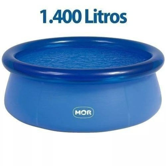 piscina 1400 litros mor