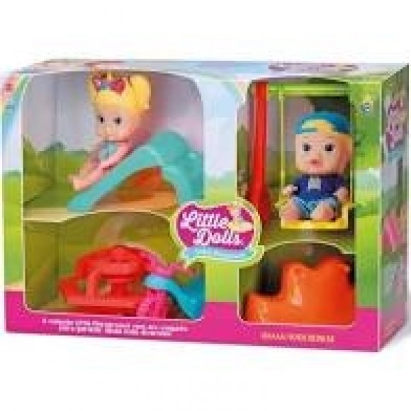 8126 LITTLE DOLLS UPER PLAYGROUYND