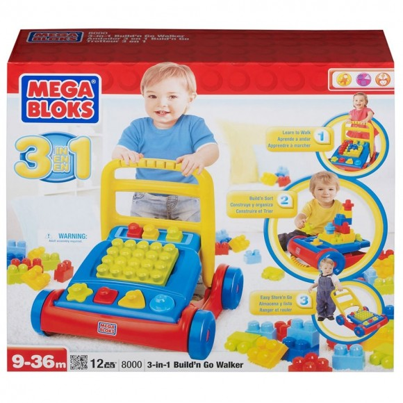8000 ANDADOR DIVERTIDO MEGA BLOCKS