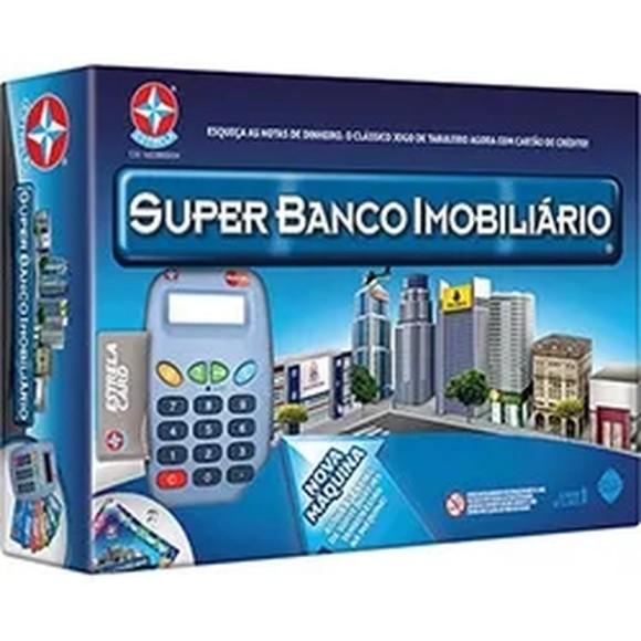 JOGO SUPER BANCO IMOBILIARIO COM MAQUINA