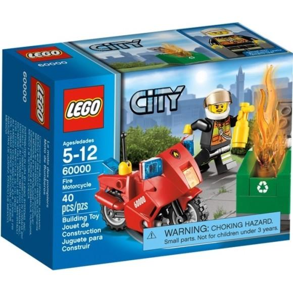 60000 LEGO MOTO DE BOMBEIROS CITY