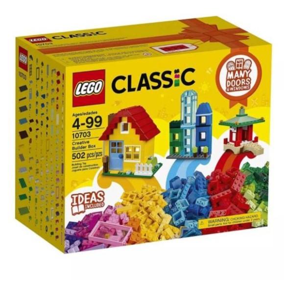 10703 LEGO CAIXA DE CONSTRUCAO 502 PECAS