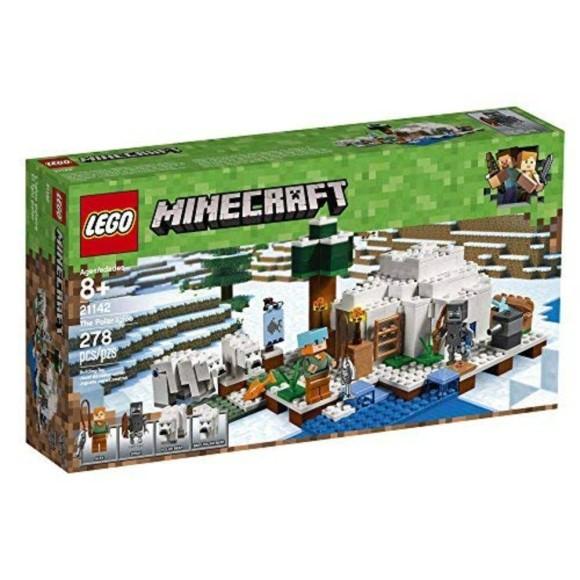 21142 LEGO MINECRAFT O IGLU POLAR