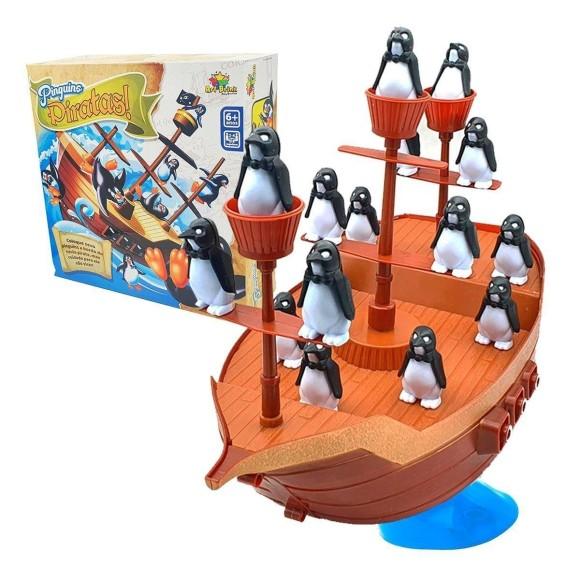 jogo navio equilibrista do pinguim