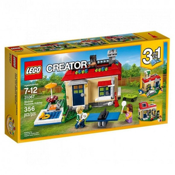 31067 LEGO FERIAS NO JARDIM