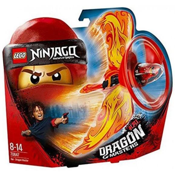 70647 - LEGO Ninjago - Kai: Mestre Dragão