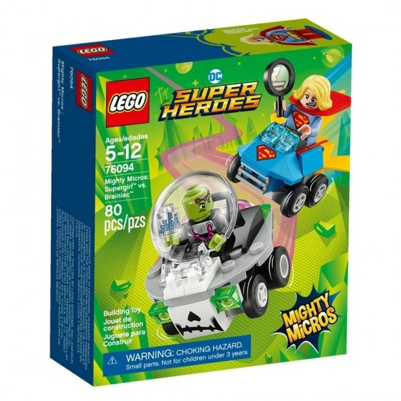 76094 - LEGO Super Heroes - Mighty Micros: Supergirl Vs. Brainiac