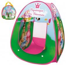 Barraca Barraquinha Toca Ilgu Cabana Infantil Dobravel Pop Up Piquenique Das Princesas Com Bolsa