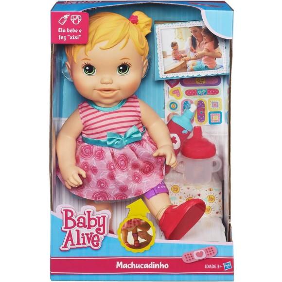 A5390 BABY ALIVE  MACHUCADINHO LOIRA